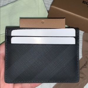 Stussy Classic Card Leather Wallet Embossed Zip Coin Money Black NEW BNIB